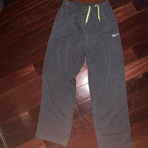 Nike Pants - Men's Nike Sweatpants w Green Laces